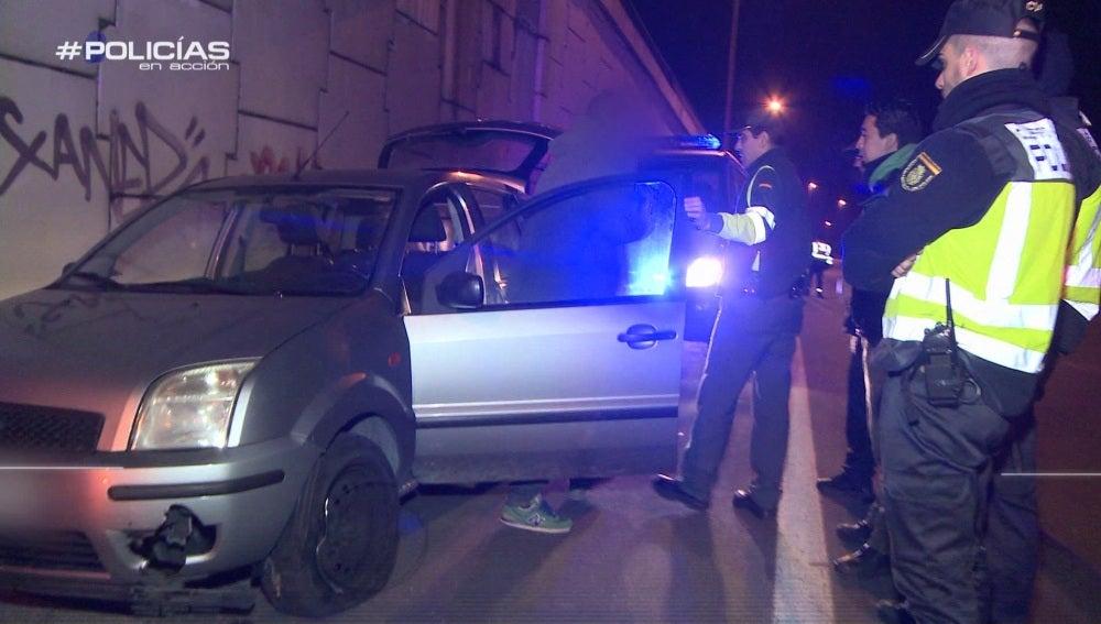 Un kamikaze da positivo en alcohol y drogas en 'Policías en acción'