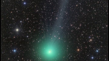 Cometa Lovejoy, descubierto por el aficionado australiano Terry Lovejoy