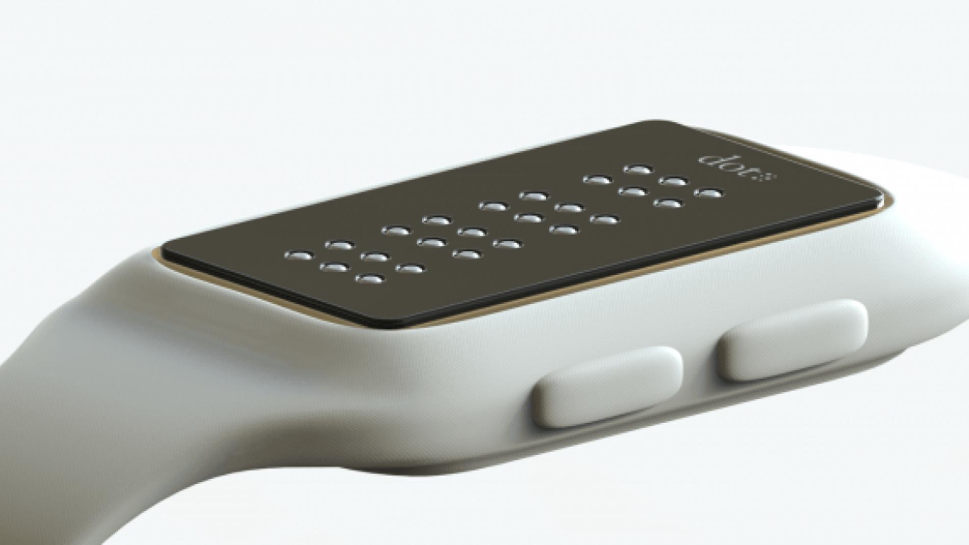 ¿Es posible hacer un smartwatch para ciegos?