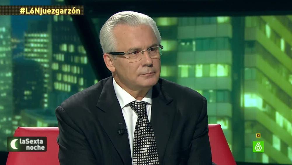 Baltasar Garzón en 'laSexta Noche'