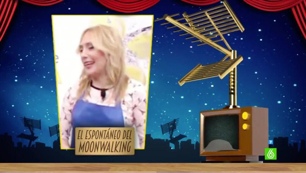 'El espontáneo del moonwalking' es el primer finalista al premio Zapeando de 'Mejor Fallo Técnico'