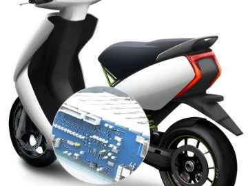 Ather, la moto eléctrica