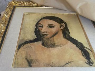 El Picasso que Jaime Botín trató de sacar de España