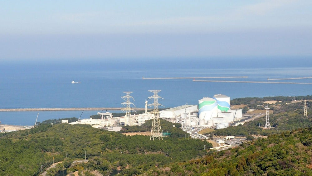 Imagen de Kyushu Electric Power Company de la central nuclear de Sendai