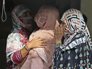 Algunas madres de las víctimas de los abusos