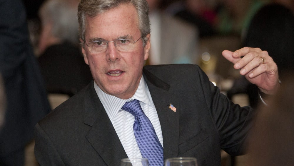 Jeb Bush, precandidato republicano en Estados Unidos