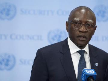 El jefe de la misión de la ONU en la República Centroafricana, Babacar Gaye