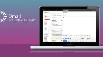 Dmail, perfecto para destruir e-mails
