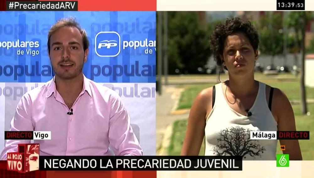 Javier Dorado y Ana García