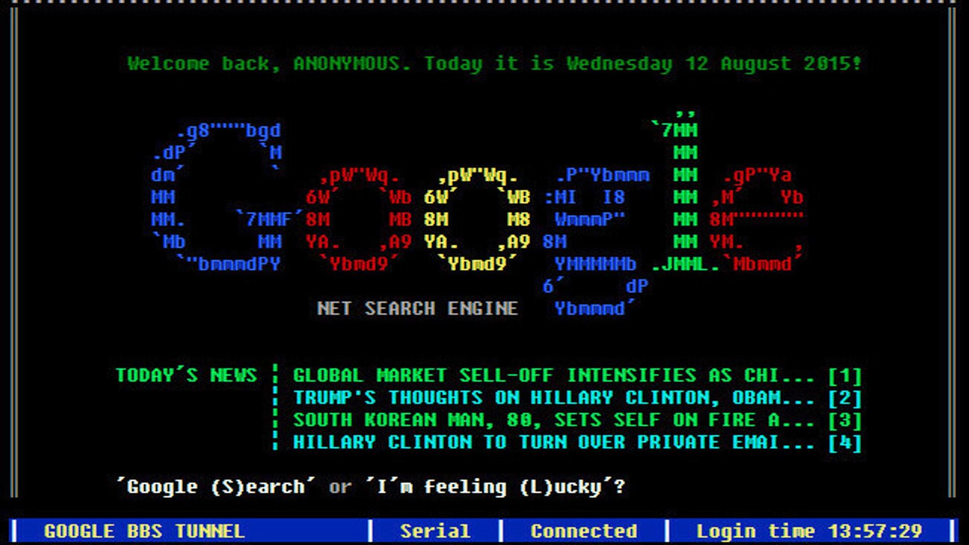Google del pasado