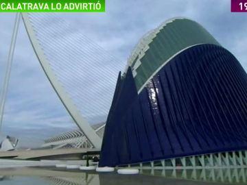 Calatrava asegura que entregó el 'Ágora' sin terminar por las prisas del gobierno de Camps