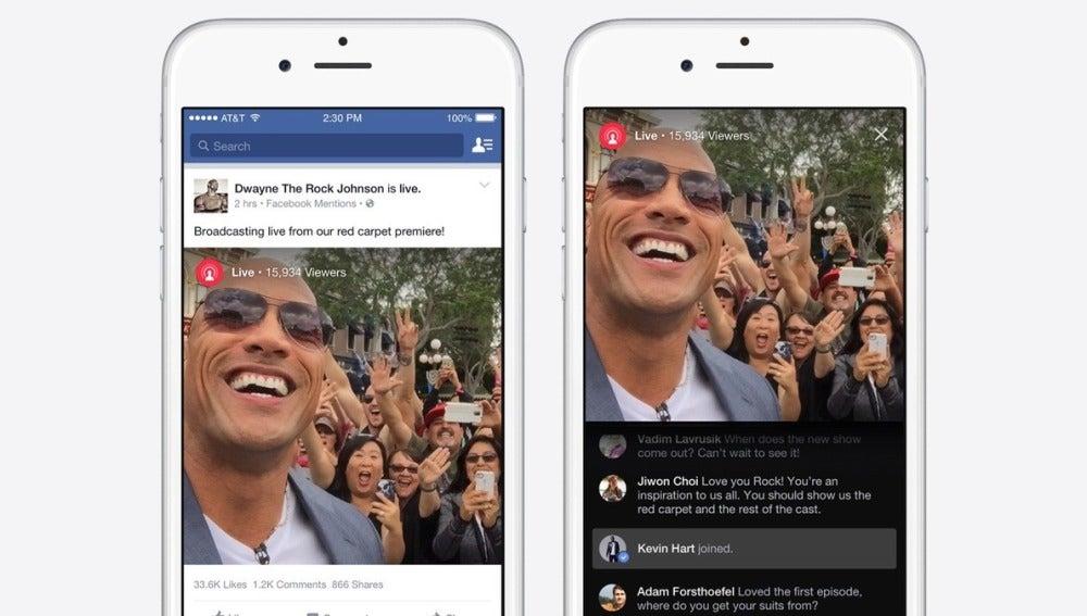 Facebook quiere plantarle cara a Periscope