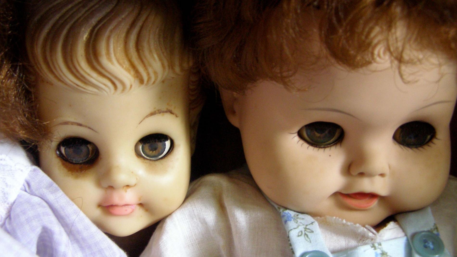 Algunas muñecas dan mucho miedo, ¿por qué si son inocuas?
