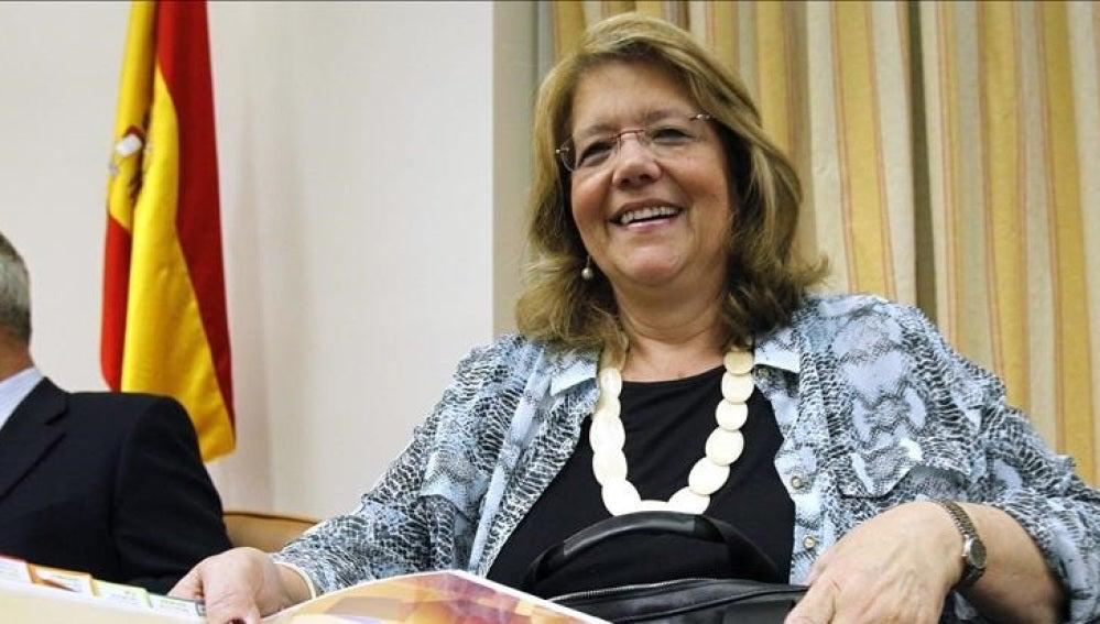 Elvira Rodríguez, presidenta de la CNM, en una imagen de archivo