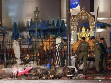 Explosión en Bangkok