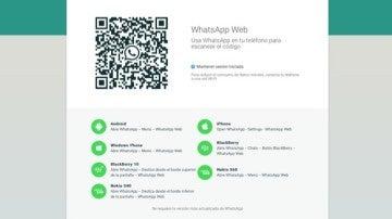 Llega la versión web de WhatsApp para iOS