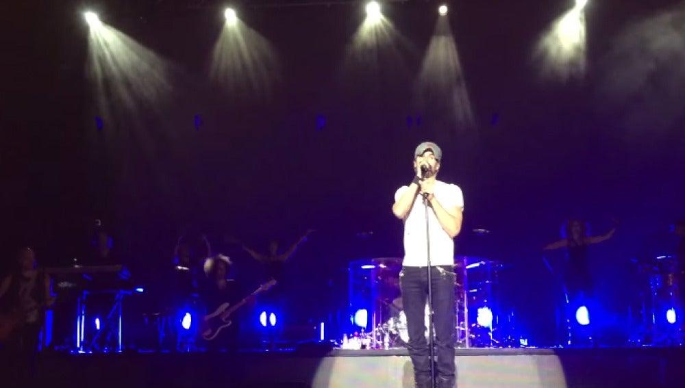 Enrique Iglesias en el Starlite Festival Marbella 2015