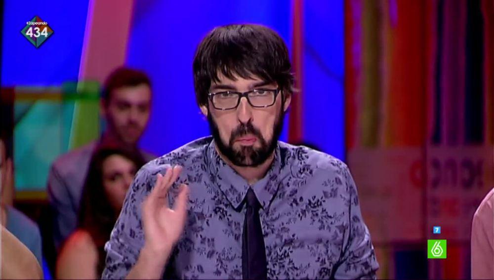 """Quique Peinado, sobre el 'zasca' de la presentadora: """"Yo voy a votar a Ana Pastor porque es mi debilidad"""""""