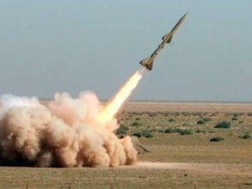 Lanzamiento de un misil en Corea del Norte (Archivo)
