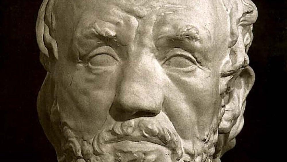 'El hombre con la nariz rota', Rodin
