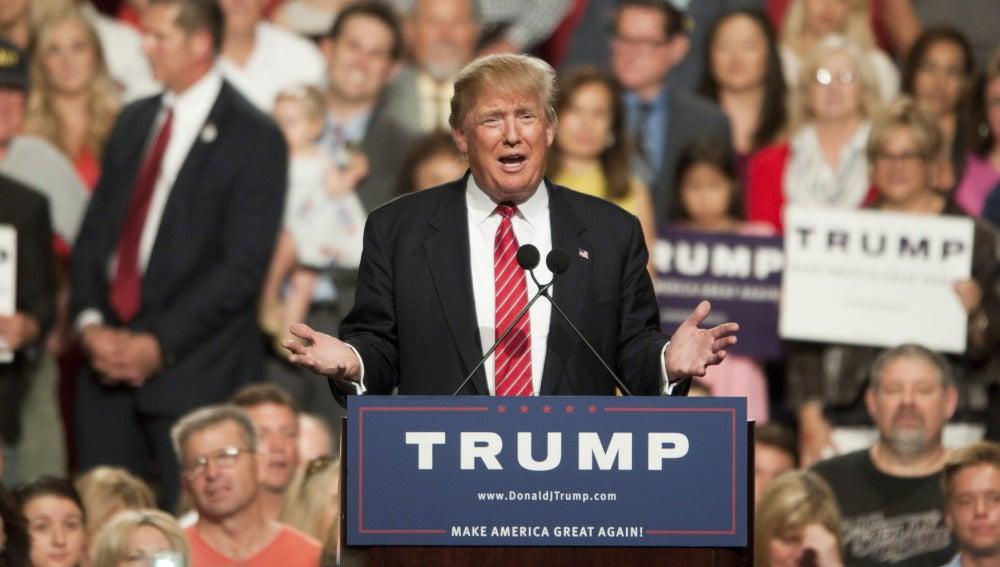 El magnate Donald Trump
