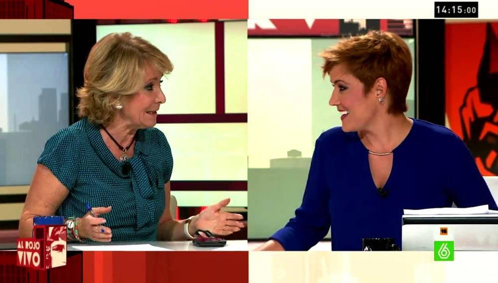 Aguirre y Cristina Pardo