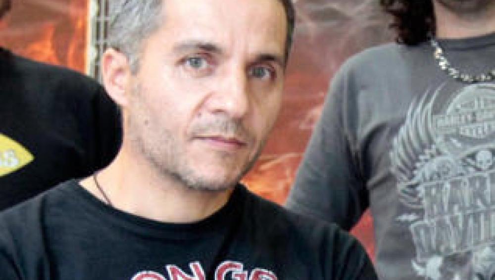 Javier Fernández, batería de Los Piratas