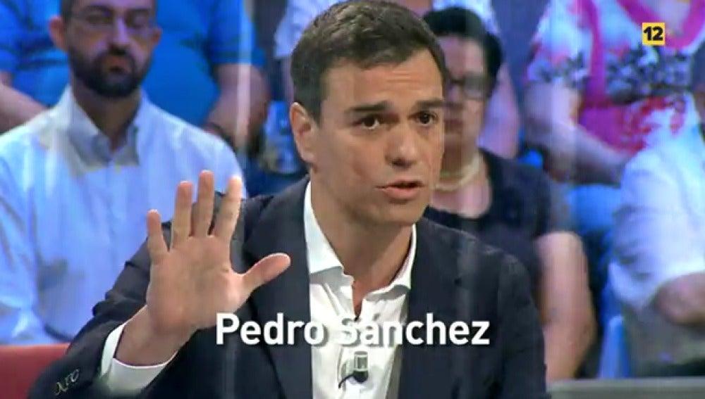 Pedro Sánchez, en laSexta Noche