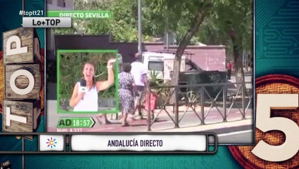 """Una reportera de Andalucía Directo se coge unos días: """"¿Sabes por qué suben las temperaturas? ¡Porque me voy de vacaciones!"""""""