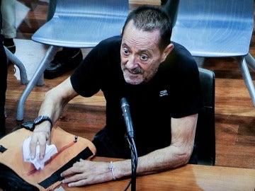 Julián Muñoz durante su juicio