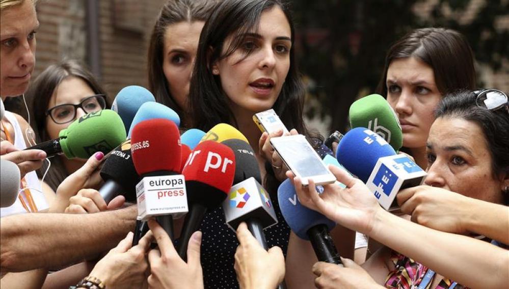 Portavoz del Ayuntamiento, Rita Maestre