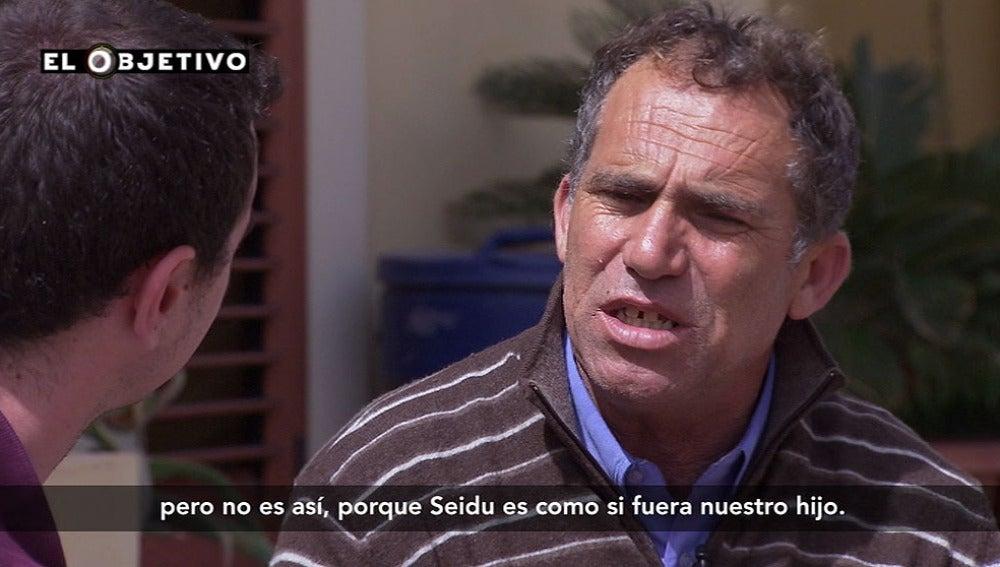 Lillo Maggiore, padre de acogida en Lampedusa
