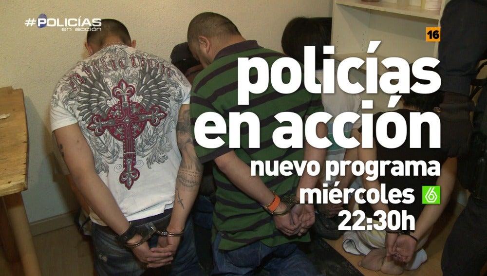"""'Policías en acción', un nuevo programa: """"¡Policía! ¡Abran la puerta!"""""""