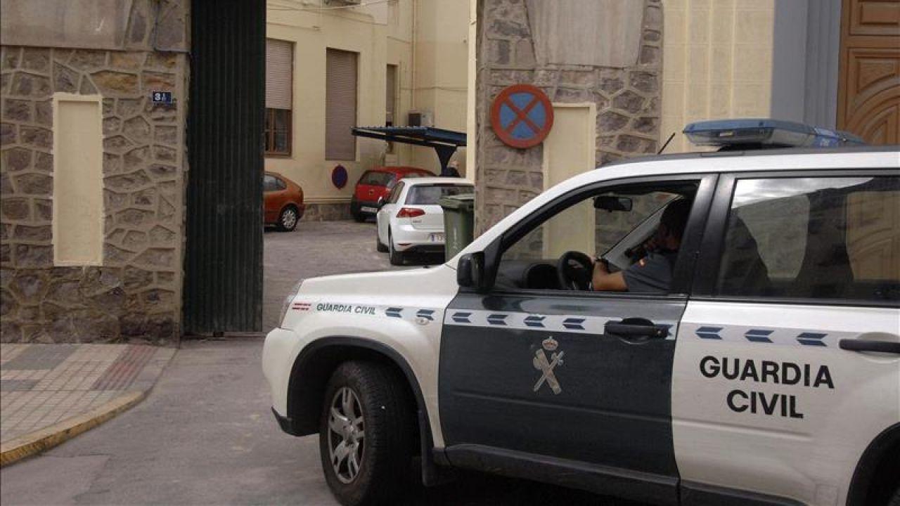 Un coche de la Guardia Civil en una imagen de archivo