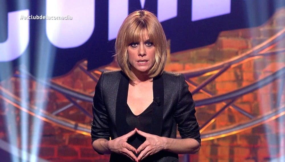 Alexandra Jiménez presenta 'El Club de la Comedia'