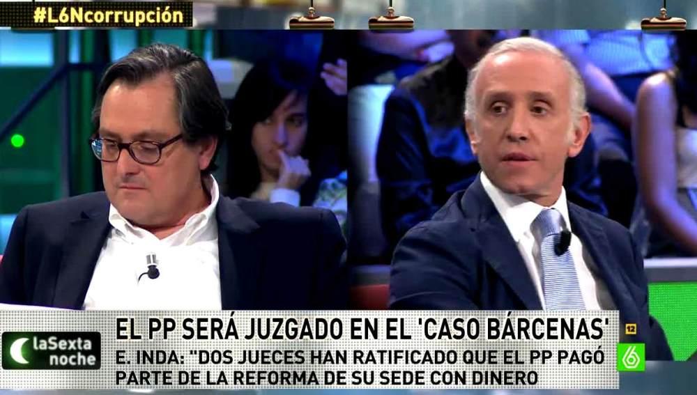 Eduardo Inda habla sobre el PP