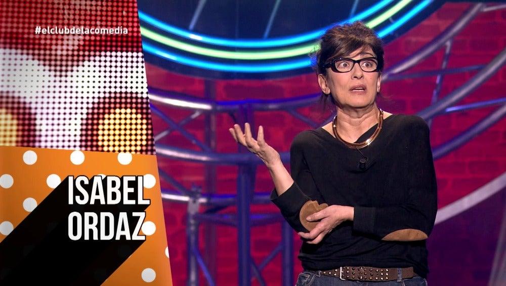 Isabel Ordaz, en 'Oído en El Club'