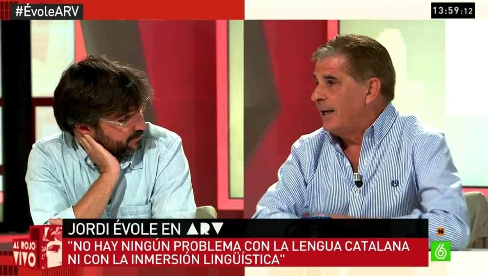 Évole y Pedro Ruiz en aRV