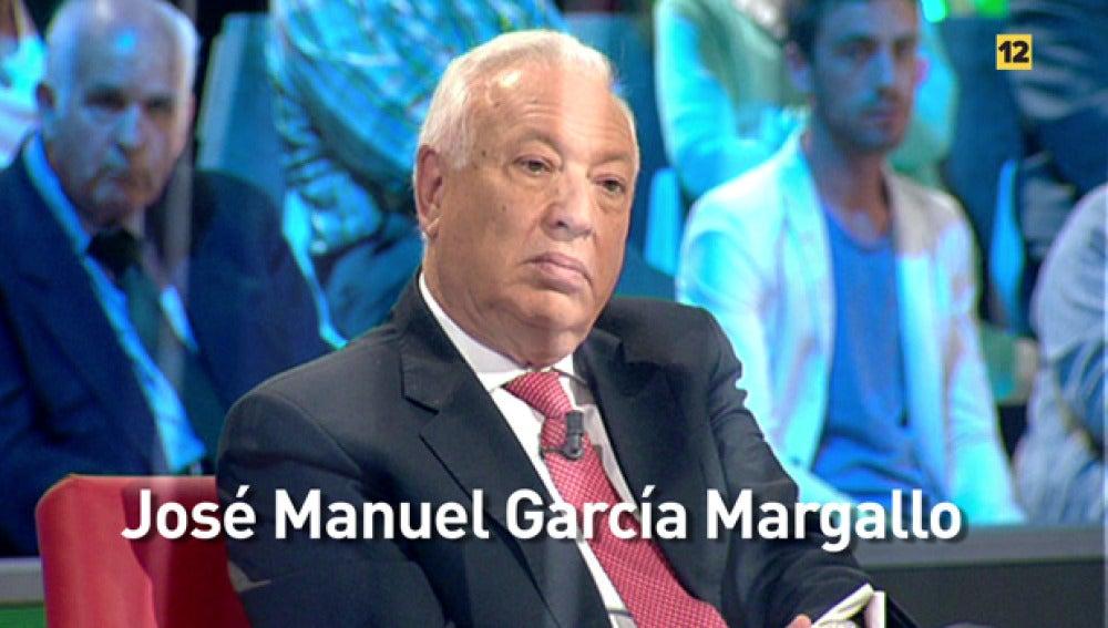 José Manuel García-Margallo visita el plató de 'laSexta Noche'