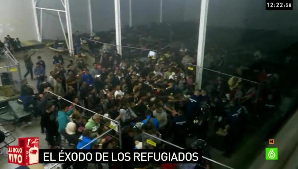 Refugiados en Hungría
