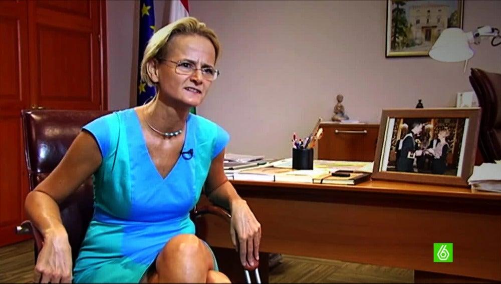 Embajadora de Hungría en España