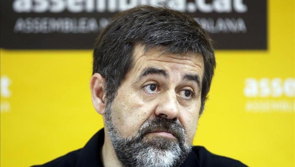 El presidente de la Asamblea Nacional Catalana, Jordi Sánchez, plantea la desobediencia civil