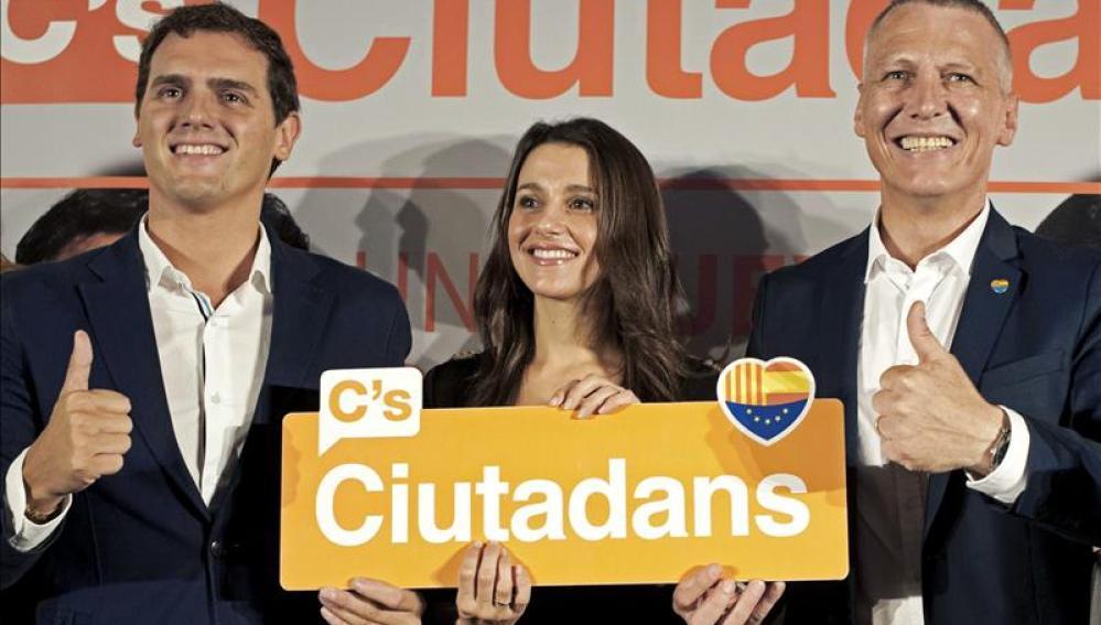 Rivera: No quiero ser presidente de España si dentro no está Cataluña