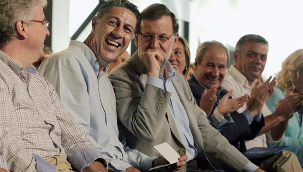 Albiol y Rajoy