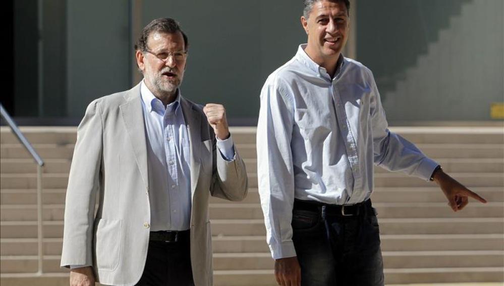 """Mariano Rajoy se estrena en la campaña del 27S: """"Hay que ir a votar porque son las elecciones más importantes"""""""
