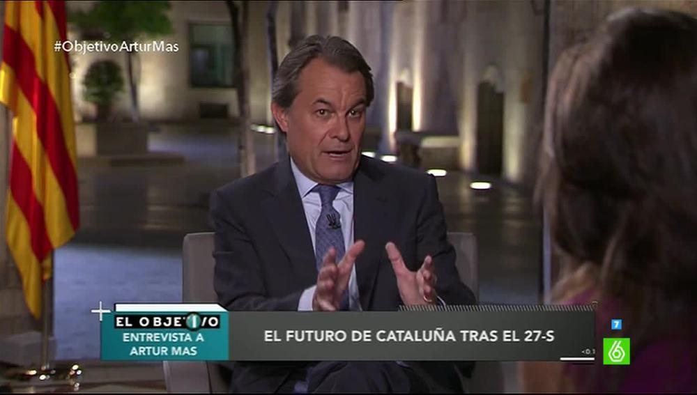 Artur Mas en El Objetivo de Ana Pator