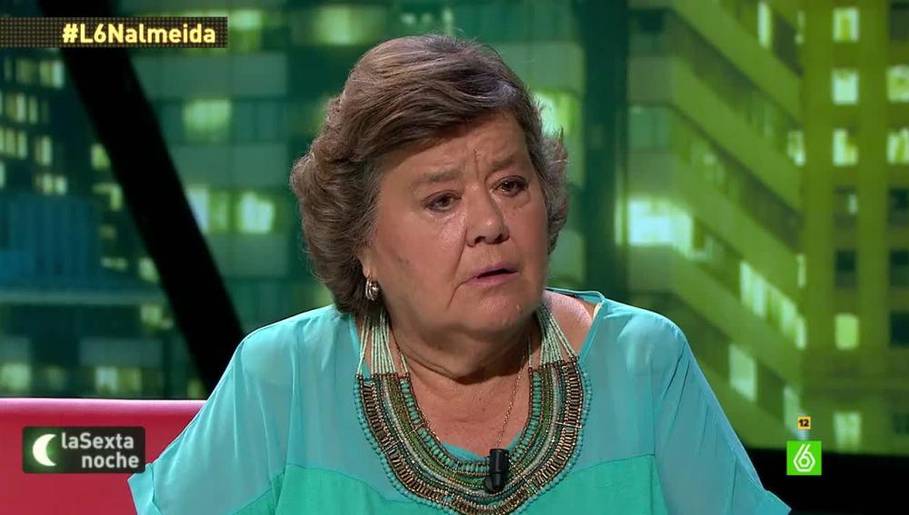 """Cristina Almeida: """"Creo que Alberto Garzón ni va a ir en las listas de Madrid ni en nombre de IU"""""""