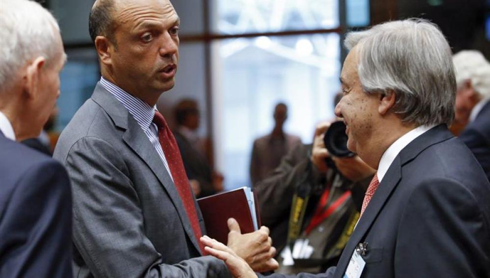 Reunión de los ministros de Justicia e Interior de la UE