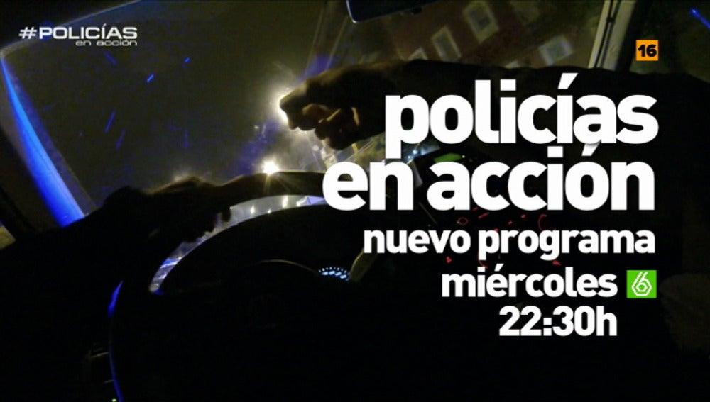 """Nuevo programa de 'Policías': """"Ha habido una pelea entre dos bandas latinas y han apuñalado a una persona"""""""
