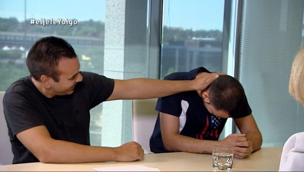Sergio y Javier, en la hora de la revelación de 'La Jefa Infiltrada' de Yoigo